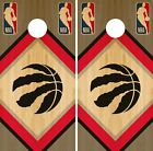 Toronto Raptors Cornhole Wrap NBA Game Skin Board Vinyl Decal Wood Set CO714 on eBay