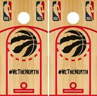 Toronto Raptors Cornhole Wrap NBA Game Skin Board Vinyl Decal Court Set CO716 on eBay