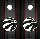 Toronto Raptors Cornhole Wrap NBA Game Skin Board Vinyl Decal Luxury Set CO717 on eBay