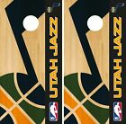 Utah Jazz Cornhole Wrap NBA Game Skin Board Vinyl Decal Logo Set CO721 on eBay