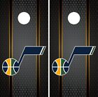 Utah Jazz Cornhole Wrap NBA Game Skin Board Vinyl Decal Luxury Set CO723 on eBay