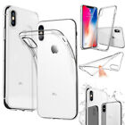 For Apple iPhone X Plus Ultra Thin Rubber Silicone Case Gel TPU Soft Phone Cover