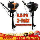 2 Stroke 3.5HP Heavy Duty Outboard Motor Boat Engine w Air/Water Cooling System