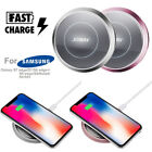 10W Qi Wireless Charger Mat Fast Charging Pad for iPhone X 8 Plus S9 S8 S7 Plus