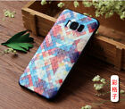 For Samsung Galaxy S8 S8+ Silicone Colorful Painting Cameo Lovely Gel Cover Case