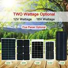 30W Watt 12V Solar Panel Charger Semi Flexible Off Grid For Home RV Boat M5T6