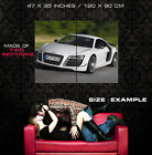 Audi R8 GT Sport Car Speed Wall Print POSTER CA