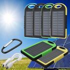300000mAh Solar Power Bank Portable USB External Battery Charger For Smart Phone