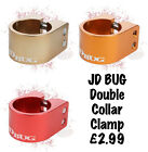 JD BUG SCOOTER DOUBLE COLLAR CLAMP - Various Colours Available