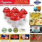 2018 Kitchen Egglettes Egg Cooker Hard Boiled Eggs Without The Shell 6 Egg Cups