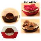 Foldable Cat Dog House Puppy Cave Pet Sleeping Warm Bed Mat Pad Nest Kennel Tent