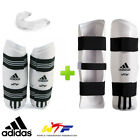Внешний вид - New! adidas Taekwondo WTF Competition Sparring Gear Set w/ Mouthguard