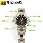 32GB 1080P HD Waterproof Spy Camera Watch Hidden Video Recorder Night Vision