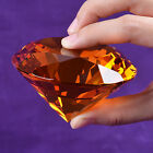 """9 Colors Crystal Paperweight Glass Art Giant Diamond Decor Centerpiece 80mm 3.1"""" фото"""