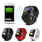 U8s Bluetooth Smart Wrist Watch Fitness Sleep Monitor For IOS Android Samsung LG