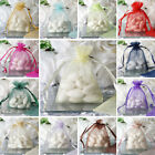 300 pcs 3x4 inch ORGANZA BAGS Wedding FAVORS Wholesale Discounted Pouches SALE