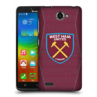 OFFICIAL WEST HAM UNITED FC 2018/19 CREST KIT HARD BACK CASE FOR LENOVO PHONES