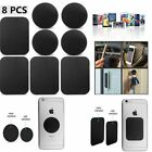 samsung h5 - 8pcs Metal Plates Sticker Replace Magnetic Mount For iPhone Samsung ZTE HTC H5