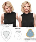 easiPart French XL 8 in Short Premium Remy Human Hair Jon Renau Clip-in-Extens