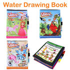 Water Coloring Book Kids Painting Magic Water Drawing Book Doodle with Pen