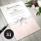 Personalised Wedding Day or Evening Invitations Invites Including Envelopes