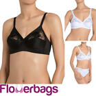 Triumph Modern Posy Non Wired Bra With Side Support - Black or White - 10157141 $26.01 USD on eBay