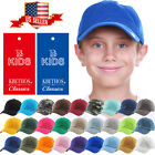 Внешний вид - Junior Youth Kid Size Cotton Dad Hat Adjustable Baseball Cap
