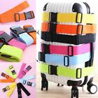 Adjustable Strong Extra Safety Travel Suitcase Luggage Baggage Straps Tie Belt A