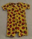 NWT Hanna Andersson Strawberry Swimmy Rash Guard 1PC Swimsuit Baby Toddler Girl