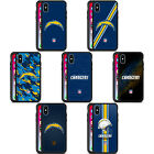 OFFICIAL NFL LOS ANGELES CHARGERS LOGO ARMOUR LITE CASE FOR APPLE iPHONE PHONES
