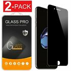9H Privacy Anti-Spy Tempered Glass Screen Protector for iPhone X 6 7 8 Plus $6.95 USD on eBay
