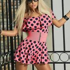 BY Alina Damen Overall Einteiler Catsuit Hotpants Overal pink 34 - 38 #C175