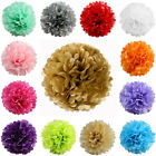 "12 pcs 8"" POM POM BALLS WEDDING PARTY Centerpieces Decorations WHOLESALE"