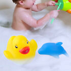 Funny Colorful Flashing Changing Lovely Bath Bathing Duck Dolphin Toy Baby Kids