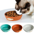 Pair Pet Dog Puppy Cat Food Bowls Feeder Water Bowl Dish Feeders Containers