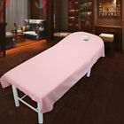 10Pcs Soft Beauty Massage SPA Treatment Bed Table Cover Sheets With Breath Hole