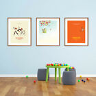 Pixar Studio - Minimalist Movie Poster Set, Finding Nemo, The Incredibles, Up