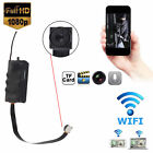 Mini Hidden WIFI HD 1080P Spy IP Car 12MP Camera Recorder Wireless DVR Nanny Cam