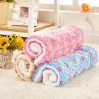 S/M/L Pet Dog Puppy Cat Bed Mat Soft Pad Blanket Indoor Outdoor Crate Cushion US