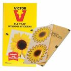 1 2 3 5 10 Packs of 4 Victor Fly Trap Insect Killer Window Stickers Sunflower K3