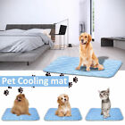 US Summer Pets Dogs Cats Cooling Gel Mat Bed Heat Relief Non Toxic Cushion Pad