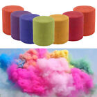 Round Smoke Pills Cake Colorful Smoke Effect Stage Background Photography Props