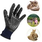 US Pet Dog Cat Grooming Gloves Cleaning Brush Hair Bath Gloves Shower Bath Tool