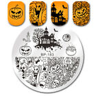 BORN PRETTY Nail Stamping Plates Zombie Bride Ghost Fairy Nail Art Halloween Day