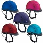 Внешний вид - Ovation Metallic Schooler Riding Helmet With Removable Breakaway Visors