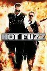 """Hot Fuzz""..Simon Pegg Nick Frost Classic Movie Poster 2 Various Sizes"