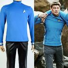 CLEARANCE!!! SALE!!! Star Trek Beyond Bones Blue Shirt Uniform Cosplay Costume on eBay