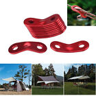 10 Pc 40*14*0.25mm Rope Fastener Tensioner Rope Adjuster Camping Accessory