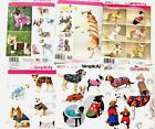 Simplicity Dog  Clothes Patterns Pet Costume Coat Sewing  Sm Medium Large XL