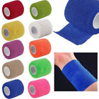 Sport Stretch Tape Cohesive Bandage Pre Wrap Treatment Gauze Tape Health HOT $1.89 USD on eBay
